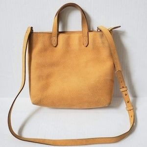 Madewell Zip Top Transport Leather Crossbody Bag